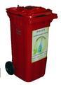 240L Glass bin